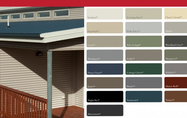 Colorbond 174 Visualiser For Shed Home Or Carport