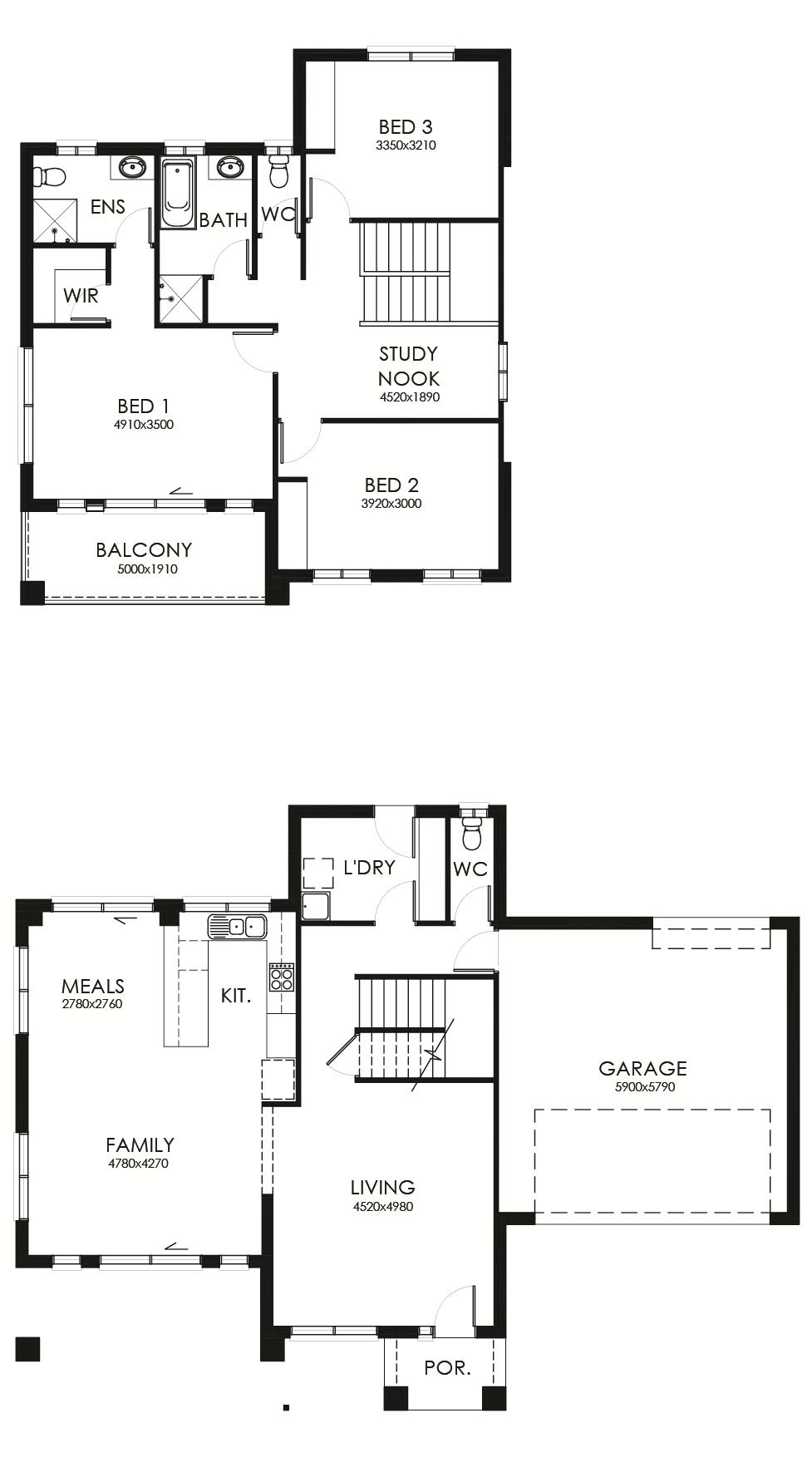 Penna 231 floor plan