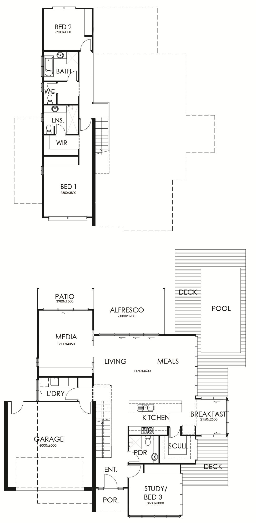 Penna 248 floor plan