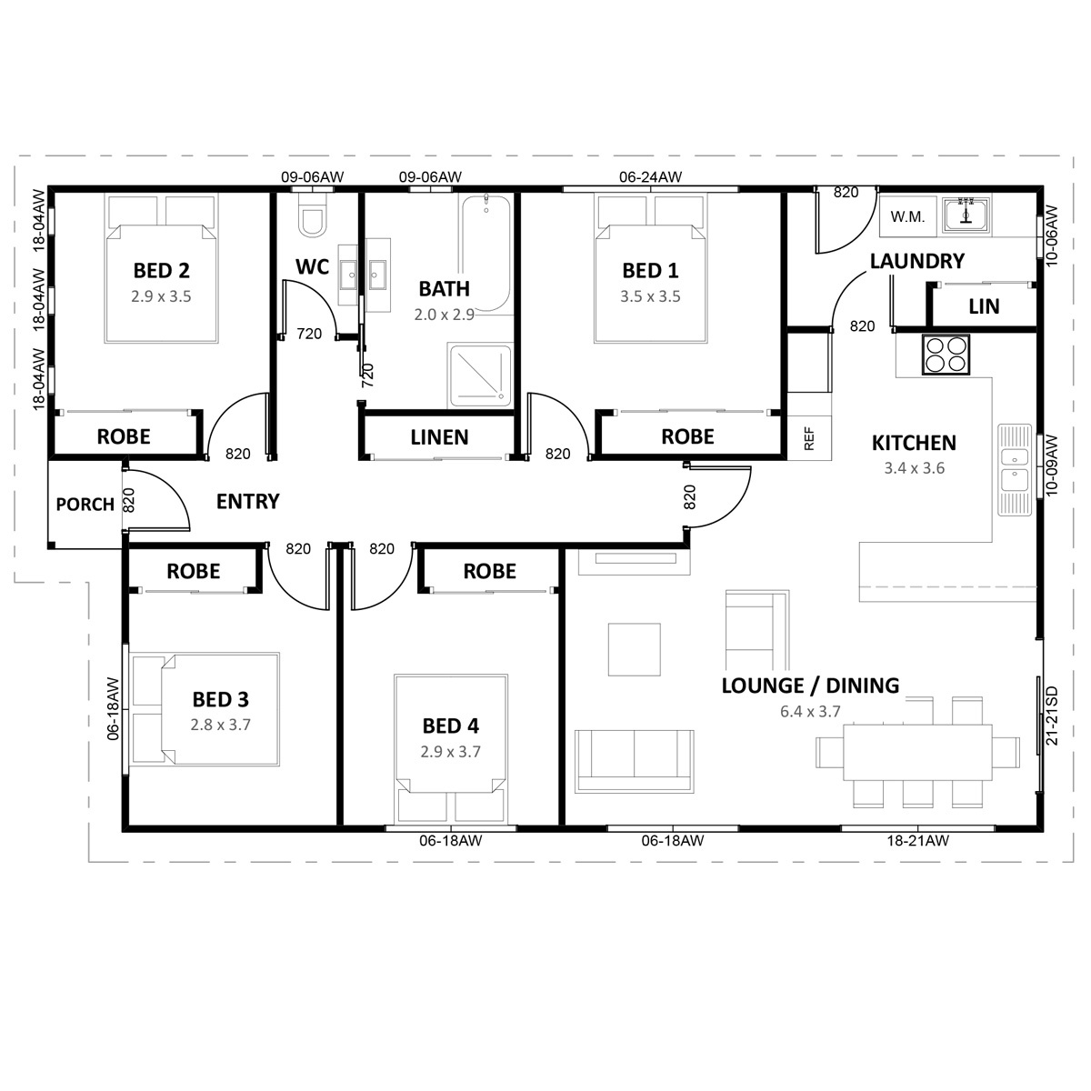 Sapphire-12-4bed